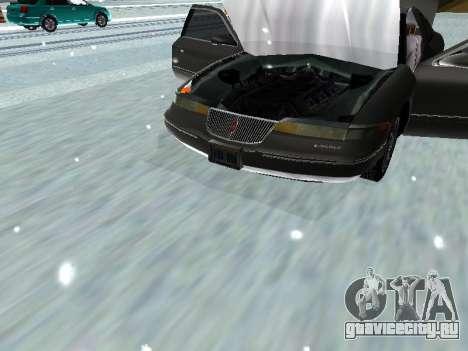 Lincoln Continental Mark VIII 1996 для GTA San Andreas вид сзади