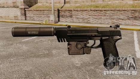 Пистолет HK USP для GTA 4 третий скриншот