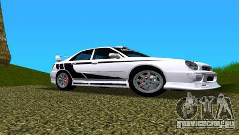 Subaru Impreza WRX v1.1 для GTA Vice City салон