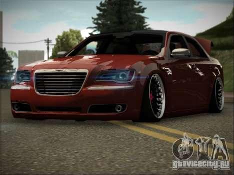 Chrysler 300C Stance для GTA San Andreas вид сзади