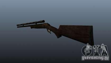 Снайперская винтовка Remington Rolling-Block для GTA 4 второй скриншот