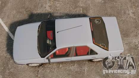 Peugeot 405 GLX Final для GTA 4 вид справа