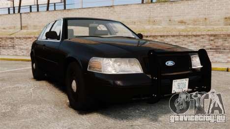 Ford Crown Victoria 2008 FBI для GTA 4