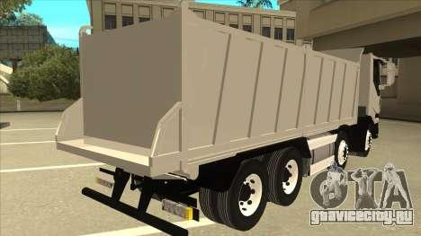 Iveco Hi-Land Самосвал для GTA San Andreas вид справа