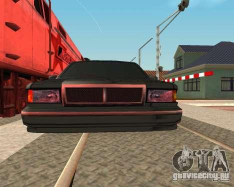 Тонированный премьер V2 для GTA San Andreas вид сзади слева