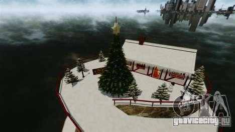Рождественский остров для GTA 4 третий скриншот