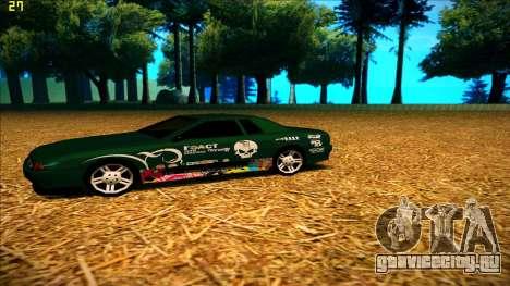 New paintjob for Elegy для GTA San Andreas второй скриншот