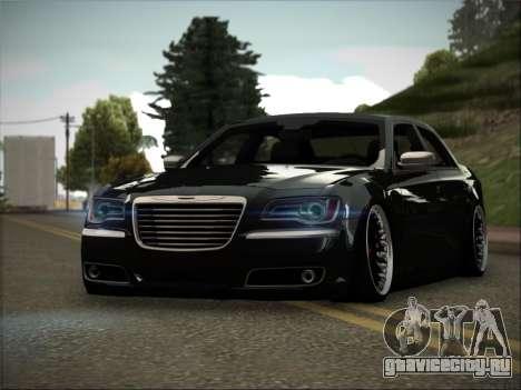 Chrysler 300C Stance для GTA San Andreas вид сзади слева