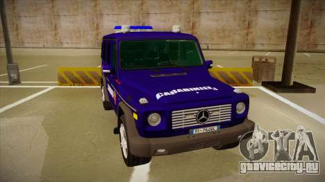 Mercedes Benz G8 Carabinieri для GTA San Andreas