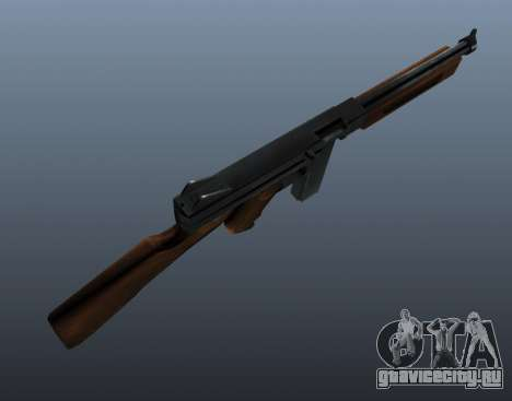 Пистолет-пулемёт Томпсона М1А1 v1 для GTA 4 третий скриншот