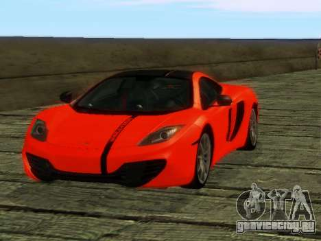 McLaren MP4-12C WheelsAndMore для GTA San Andreas