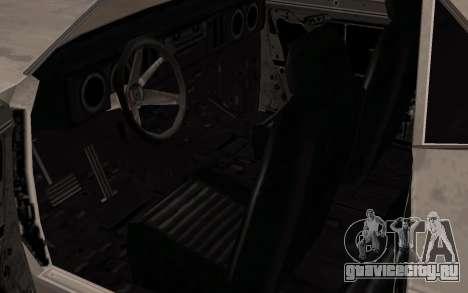 Bullet из FlatOut для GTA San Andreas вид сзади