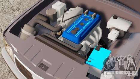 ГАЗ-3110 Волга для GTA 4 вид изнутри
