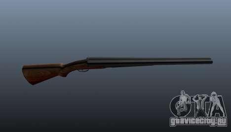 Двуствольное ружье для GTA 4 третий скриншот