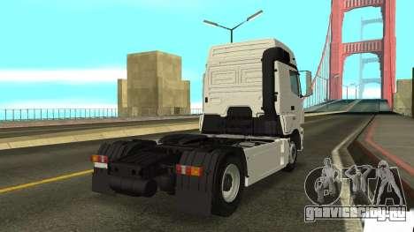 КамАЗ 5490 для GTA San Andreas вид сзади слева