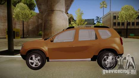 Dacia Duster Elite для GTA San Andreas вид сзади слева