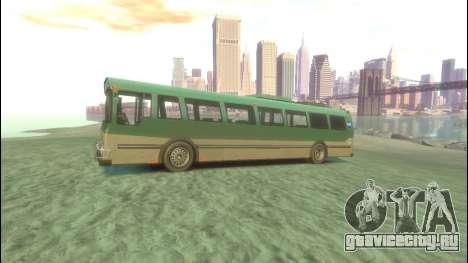 Bus из GTA 5 для GTA 4 вид слева