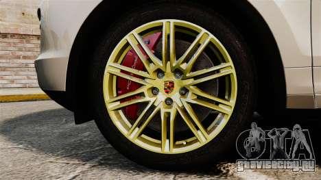 Porsche Cayenne Turbo 2012 v3.5 для GTA 4 вид сзади