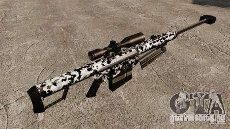 Снайперская винтовка Barrett M82 v16 для GTA 4 второй скриншот