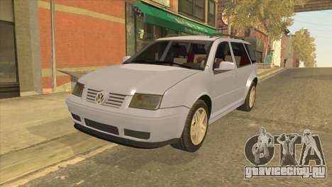 Volkswagen Jetta Wagon для GTA San Andreas