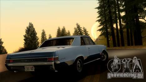 Pontiac Tempest LeMans GTO Hardtop Coupe 1965 для GTA San Andreas вид слева