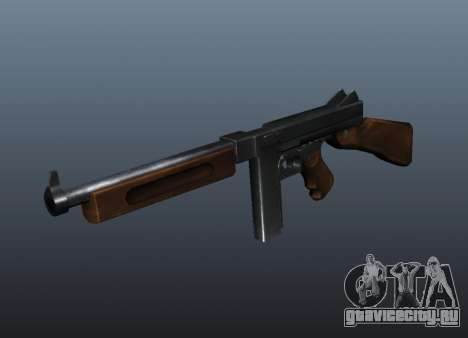 Пистолет-пулемёт Томпсона М1А1 v1 для GTA 4