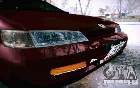 Honda Accord Wagon для GTA San Andreas вид сверху