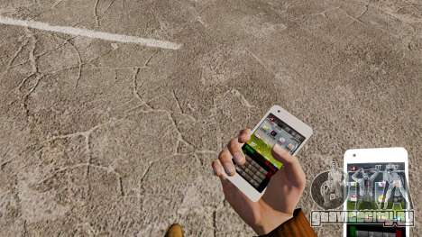 Клавиатура Samsung Galaxy S2 для GTA 4 третий скриншот