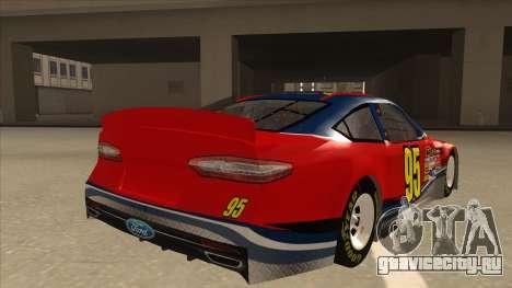 Ford Fusion NASCAR No. 95 для GTA San Andreas вид справа