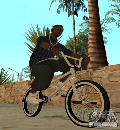 BMX для GTA San Andreas вид слева