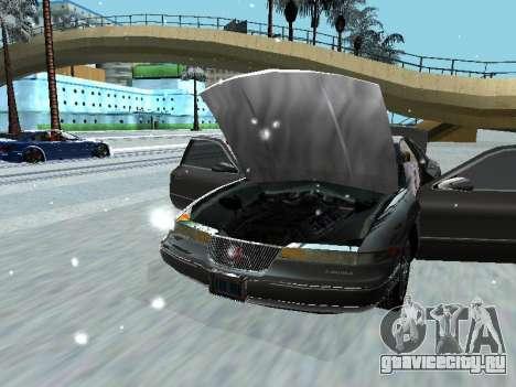Lincoln Continental Mark VIII 1996 для GTA San Andreas вид сзади слева