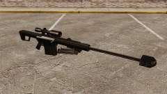 Снайперская винтовка Barrett M82 v2 для GTA 4