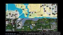 GTA V atlas map