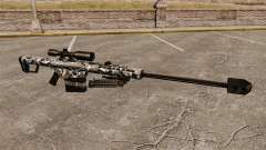 Снайперская винтовка Barrett M82 v15 для GTA 4