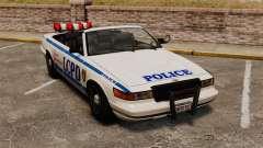 Кабриолет версия Police