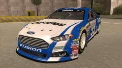 Ford Fusion NASCAR No. 99 Fastenal Aflac Subway для GTA San Andreas