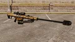 Снайперская винтовка Barrett M82 v10 для GTA 4