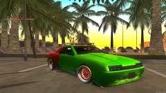 Elegy New Year for JDM для GTA San Andreas