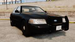 Ford Crown Victoria 2008 FBI для GTA 4