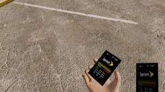 Тема для телефона Sprint для GTA 4