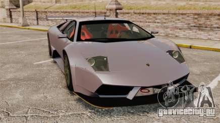 Lamborghini Murcielago RSV FIA GT1 v2.0 для GTA 4
