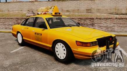 Taxi с новыми дисками v2 для GTA 4