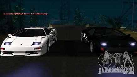 Lamborghini Diablo SV v2 для GTA San Andreas