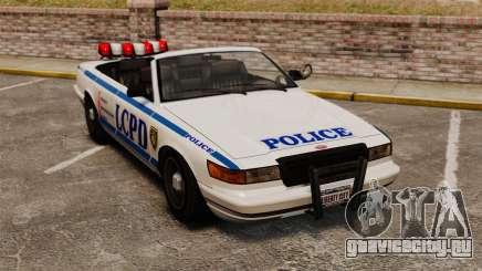 Кабриолет версия Police для GTA 4