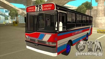 Mercedes-Benz OHL-1320 Linea 78 Los Andes для GTA San Andreas
