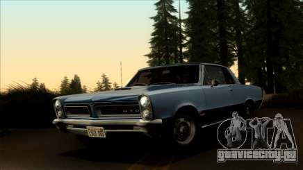 Pontiac Tempest LeMans GTO Hardtop Coupe 1965 для GTA San Andreas