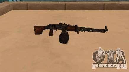 Ручной пулемёт Дегтярёва (РПД) для GTA San Andreas