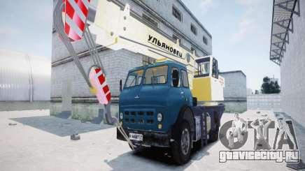 МАЗ КС3577-4-6 Ульяновец для GTA 4