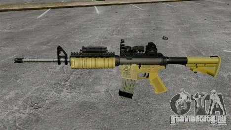 Автомат M4 Red Dop v2 для GTA 4 третий скриншот