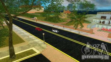 Новые дороги Starfish Island для GTA Vice City